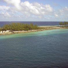 A Barrier Island near Nassau