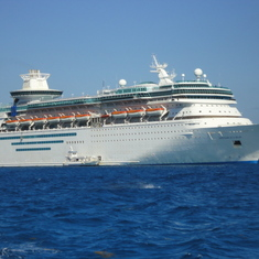 cruise on Monarch of the Seas to Caribbean - Bahamas
