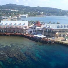 port in Roatan, Honduras