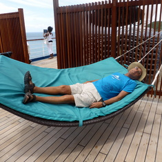 Life is good! Ship hammock