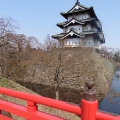 Aomori, Japan - Hirosaki Castle Town, Aomori Japan
