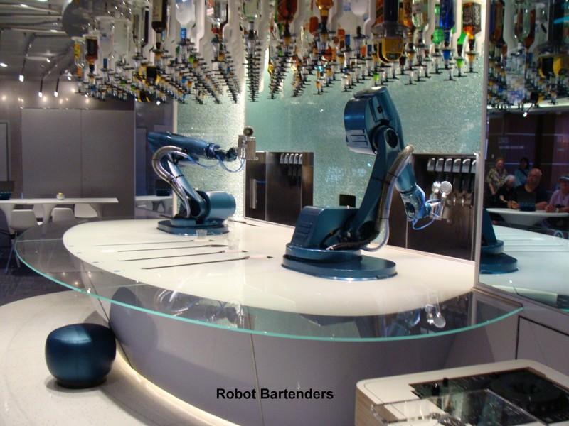 Empty Robotic Bar