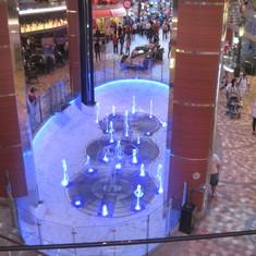 Fountain in Grand Promenade