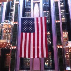 The Splendor is very patriotic