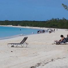 Half Moon Cay, Bahamas (Private Island) - Beach at Half Moon Cay