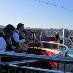 San Diego, California - Onboard the Veendam