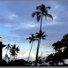 Lahaina, Maui - Lahaina early evening