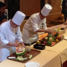 Culinary Carving Demonstration