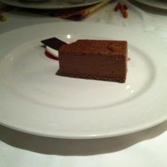 Chocolate-peanut butter dessert, Royal Palace
