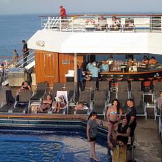 Cabo San Lucas, Mexico - On board the Splendor
