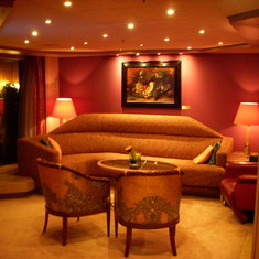 Living Room, Penthouse Suite, Westerdam