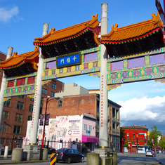 Vancouver (Canada Place), British Columbia - China Town, Vancouver, B.C.