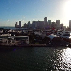 Downtown Miami and Seaport