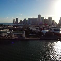 Miami, Florida - Downtown Miami and Seaport