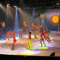 The ice show