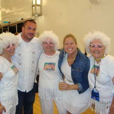 Good times with fellow cruisers at the White Hot Party
