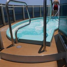 Deck 5 Hot Tub