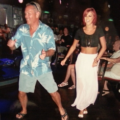 dancing in jazz room