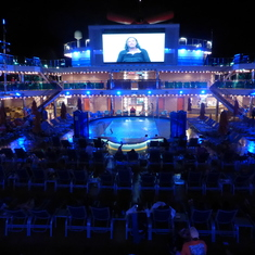 Popol Deck View at Night