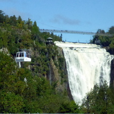 Mont Morency Waterfall