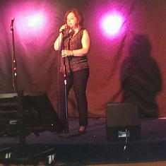 Me singing Kaeroke!