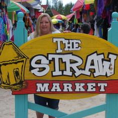 Straw Market shops Bahamas