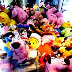 win a stuffed animal if yu can