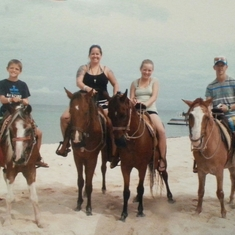Cozumel, Mexico - Mr Sanchos Beach + horseback in Cozumel