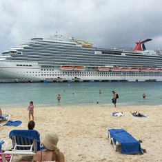cruise on Carnival Breeze to Caribbean