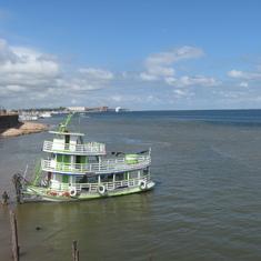 Amazon River, huge-huge.
