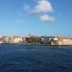 Beautiful, colorful Curacao.