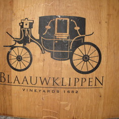 Beautiful German winery tour, west coast South Africa