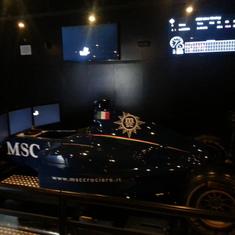 Formula 1 Race Simulator