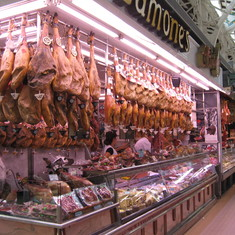 Bounty of Spain--They eat good here--Valenica Spain