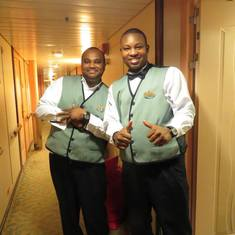 Our Cabin Staff -Terrance & Daniel