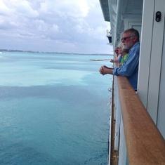 Beautiful waters of Bermuda