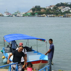 Mazatlan, Mexico - Stone Island water taxi