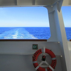On Board the Veendam
