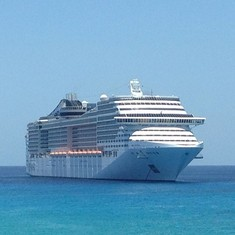 MSC Divina - Grand Cayman 2014