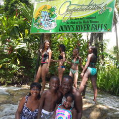Conquered the falls in Jamaica