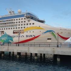 Docked in Bermuda