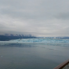 Hubbard Glacier; note the extended balconies