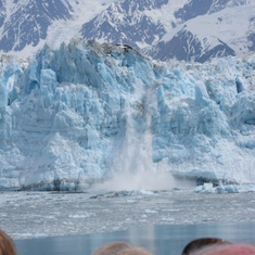 Nuff said. Just look at this picture! Hubbard Glacier the best calveing viewing