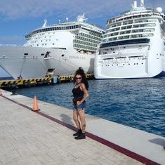 arriving in Jamaica,I believe