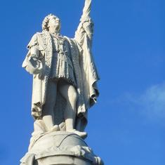 Columbus Statue San Juan