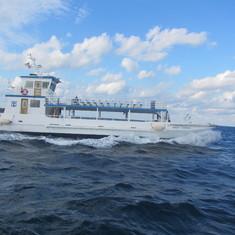 small boat to Coco CAy