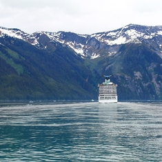 Cruise Tracy Arm Fjord, Alaska - Tracy Arm Fjord May 2014