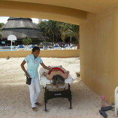 Progreso-private beach-massages for $30