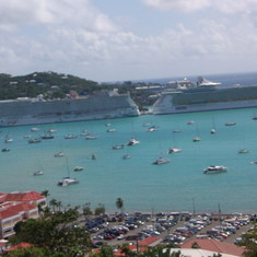 Ships in St. Thomas