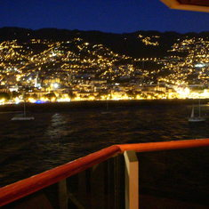 Funchal, Madeira - View from Penthouse Balcony, Westerdam